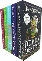 World of David Walliams Series 2 Collection 5 Books Set (6-10) Demon Dentist NEW