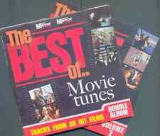 BEST OF MOVIE TUNES PROMO 2 CD SET 30 TRACKS WAYNES WORLD, STAND BY ME, SCREAM