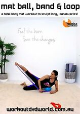 Pilates EXERCISE DVD - Barlates Body Blitz MAT WITH BALL, BAND AND LOOP WORKOUT!