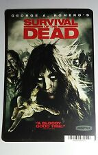 SURVIVAL OF THE DEAD GEORGE A ROMERO ART MINI POSTER BACKER CARD (NOT a movie)