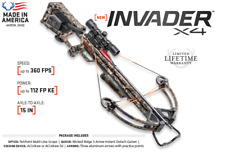 Wicked Ridge by TenPoint Invader X4 Crossbow Package with Acudraw New 2019 kit