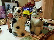 Vintage Erphila Germany Dog  Terrier Cat Teapots