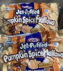 Kraft Jet Puffed Pumpkin Spice Marshmallows 8 Oz - 4 Bags- 7/5/21