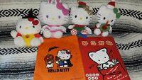 Vintage SANRIO Holiday Lot Hello Kitty Halloween Easter Christmas Plush Bag Tote