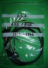 Bsa A50 A65 500cc 650cc arnés de cableado Telar Paño Nueva 1962 A 1966
