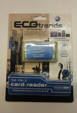 ECOtrends 50-in-1 Card Reader 4 Slot Support 50 Different Cards NEW NOS