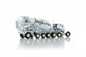 "Oshkosh S-Series Cement Mixer - ""REVOLUTION"" - 1/50 - TWH #075-01064"