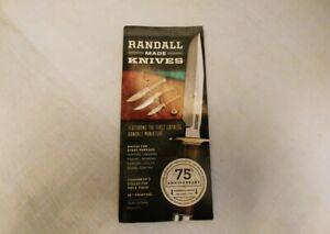 Randall Made Knives Catalog 36th Printing 2012......75th ANNIVERSARY edition