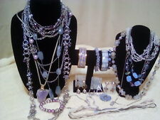 """Mixed lot of""""Used""""Shades of Purple Fashion Jewelry"""