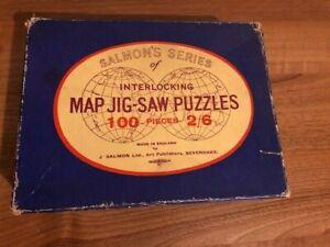 SALMON'S SERIES OF INTERLOCKING MAP JIGSAW PUZZLES - SCOTLAND