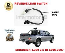FOR MITSUBISHI L200 2.5 TD 1996-2007 NEW REVERSE LIGHT SWITCH 2 PIN OVAL