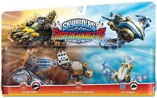 Skylanders Triple Pack 1 (SC) WII PS3 XBOX360 WIIU PS4 XBOXONE 3DS TAB