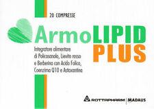 3 X ARMOLIPID PLUS INTEGRATORE CONTROLLO COLESTEROLO = 60 CPR (2 MESI)