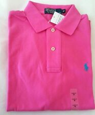 Ralph Lauren Men's Pink Polo Shirt Classic Fit XS RRP £70