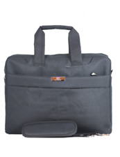 Men Office Carry Canvas Briefcase Laptop Bag   Durable Laptop Carrying Hand Bag
