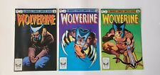 MARVEL COMICS BRONZE AGE WOLVERINE (1982) No. 2,3 &4  –  VF