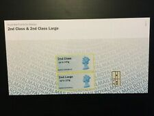 GB 2013 2nd class & 2nd class large Post and Go stamps Presentation Pack VGC