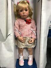 Susan Lippl Vinyl Puppe 80 cm. Top Zustand