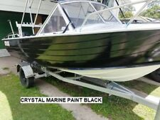 MARINE PAINT 1 X 4 LITRE BLACK  1 PAC  BRUSH, ROLL, SPRAY DELIVERED