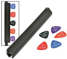 "Mic Stand Pick Holder Microphone Guitar Plectrum Holder 7"" Rubber Strip Picks"