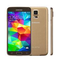Samsung Galaxy S5 SM-G900T - 16 Go 16 Mpx - (Doré) Unlocked 4G LTE Smartphone