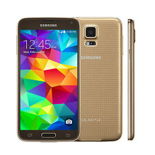 Samsung SM-G900T Galaxy S5 Unlocked Android OS 4G LTE Smart Phone - 16GB - Gold