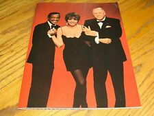Frank Sinatra Concert Program Ultimate Event Liza Minnelli Sammy Davis Jr 1988