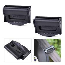 2Pcs Car Seat Belt Safety Adjuster Clips Clamp Stopper Buckle Improves Comfort
