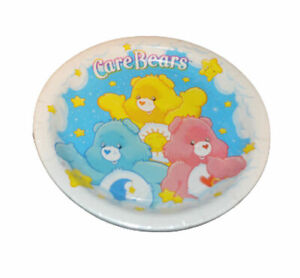 """CARE BEARS SET X 8-PAPER LUNCH PLATES 9"""" DIAMETER -  PARTY SUPPLIES - NEW"""