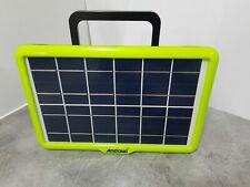 kit pannello solare fotovoltaico con cassa wireless usb carica cellulare luci