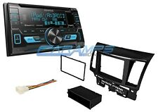LANCER KENWOOD CAR STEREO RADIO W/ SIRIUS XM & SMARTPHONE INTG W/ INSTALL KIT