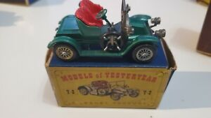 Matchbox Models of Yesteryear Y-2 1911 Renault Boxed
