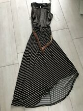 BNWT Brand New Women's Ladies Black & Tan Ralph Lauren Dress RRP £250 Size US 4P