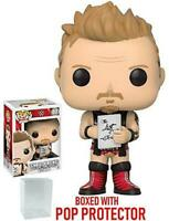 "WWE CHRIS JERICHO WITH LIST 3.75"" POP VINYL FIGURE FUNKO BRAND NEW 40"