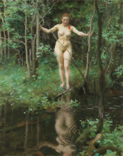 Zorn Anders Nude Canvas Print 16 x 20    #3970