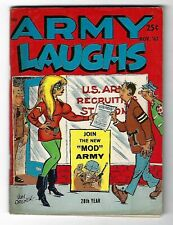 Army Laughs Vol. 17 No. 9 Nov. 1967 - Don Orehek cover - Bill Wenzel back cover