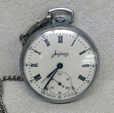 Vintage Soviet Molnija Russian Pocket Watch