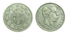 pcc1378_30) Regno Umberto I (1878-1900) Lire 2 Stemma  1884