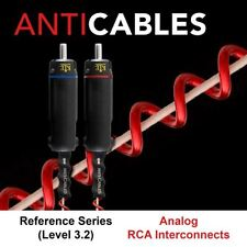Anti-Cables Level 3.2 Reference Series RCA Analog Interconnect, 1m Pair