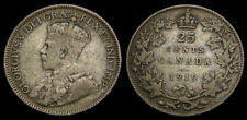 Canada 1919 25 Twenty-Five Cents King George V Toned F-12