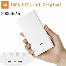 Original Xiaomi 20000mAh Power Bank External Battery Pack For All Mobile Phone