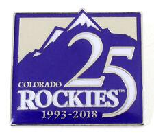 Colorado Rockies 25th Anniversary Pin - Limited Edition 500