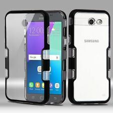 For Samsung Galaxy Express Prime 2/J3 (2017)/J3 Emerge Clear Hard Hybrid Case