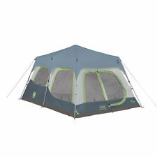 NEW Coleman 10 Person Instant Tent Cabin 14 Ft x 10 Ft ~ Fits 4 Queen Airbeds!