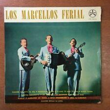 Los Marcellos Ferial [1965] Vinyl LP Latin Pop Ronde Un Poncho Y Un Sombrero