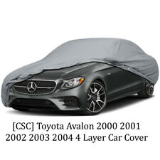 [CSC] Toyota Avalon 2000 2001 2002 2003 2004 4 Layer Car Cover