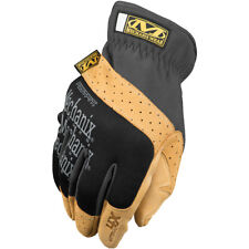 MECHANIX WEAR FASTFIT MATERIAL4X MENS WORK SAFETY PROTECTION GLOVES BLACK TAN