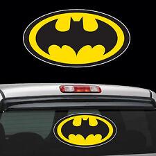 Diecut Vinyl Batman LOGO Decal Sticker Comic Colored BatMan Marvel superman