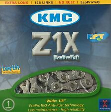 KMC E-Bike Kette Z1X EcoProTeQ 128 Glieder Getriebenabe