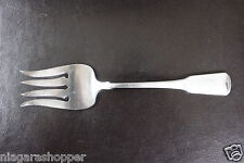 ONEIDA*American Colonial*Stainless Flatware*CUBE MARK*Cold Meat Serving Fork*